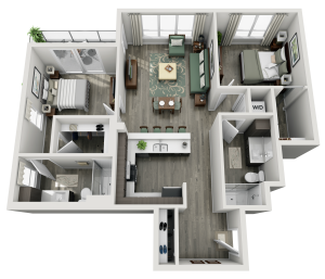 Floorplans - Geneva@Hughes
